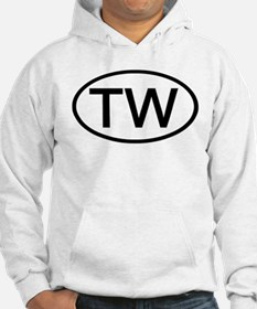 TW - Initial Oval Hoodie