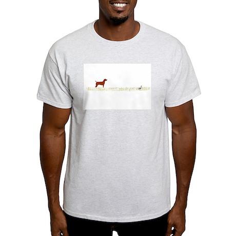 Vizsla on Chukar Light T-Shirt