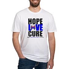 Male Breast Cancer HopeLoveCu Shirt