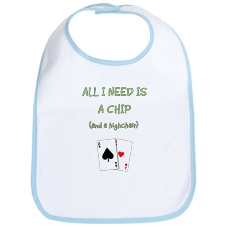 """""""Chip and a Chair"""" Bib"""