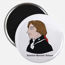 "Admiral Horatio Nelson 2.25"" Magnet (10 pack)"