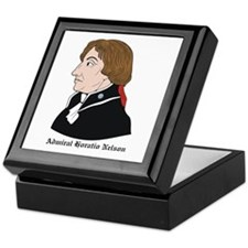 Admiral Horatio Nelson Keepsake Box
