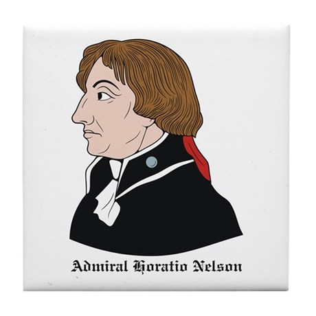 Admiral Horatio Nelson Tile Coaster