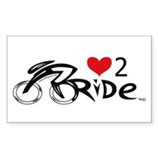 Love 2 ride 2 Decal