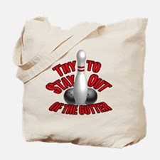 Bowling dirty humor Tote Bag