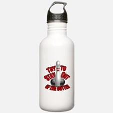Bowling dirty humor Water Bottle