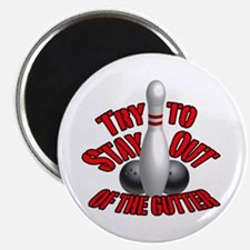 """Bowling dirty humor 2.25"""" Magnet (10 pack)"""
