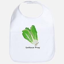Lettuce Pray Baby Bib