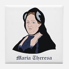 Maria Theresa Tile Coaster