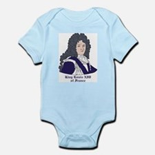 King Louis XIV Infant Creeper