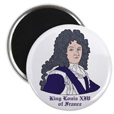 """King Louis XIV 2.25"""" Magnet (10 pack)"""