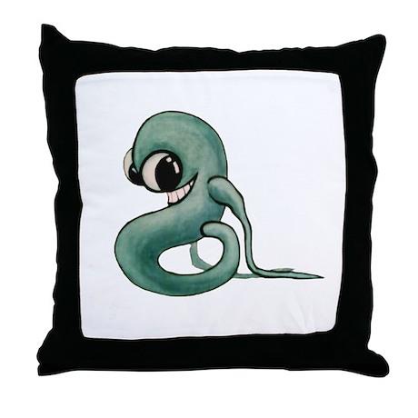 That Creep Throw Pillow By Eva Snow