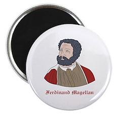 "Ferdinand Magellan 2.25"" Magnet (10 pack)"
