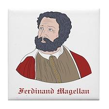 Ferdinand Magellan Tile Coaster