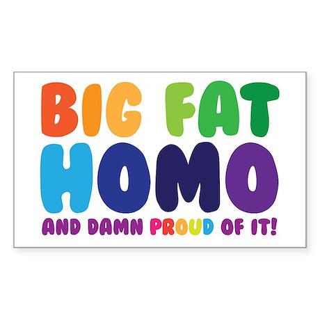 Big Fat Sticker (Rectangle)
