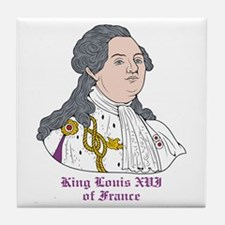 King Louis XVI of France Tile Coaster