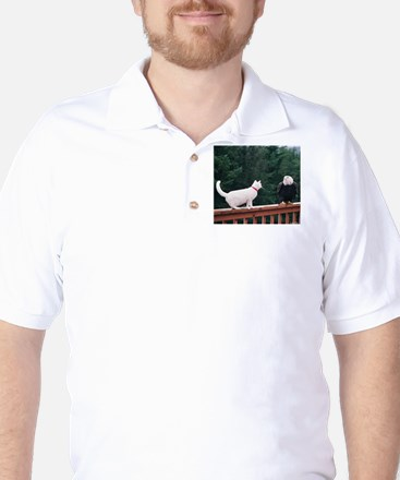 LET'S DO LUNCH Golf Shirt
