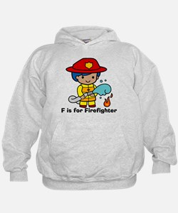 F is for Firefighter Hoodie