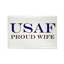 USAF Proud Wife Rectangle Magnet