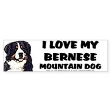 <B>NEW!</B> I Love My BMD Bumper Sticker (10x3)