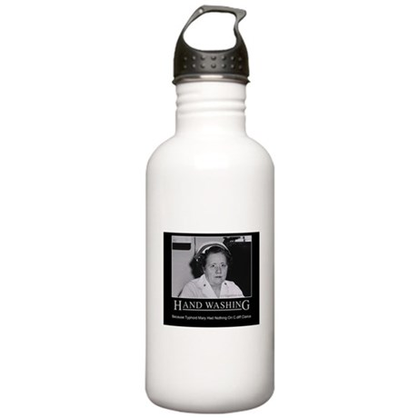 Infection Control Humor 02 Stainless Water Bottle