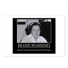 Infection Control Humor 02 Postcards (Package of 8