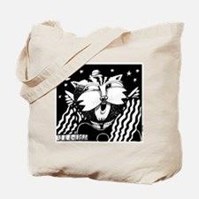 Cat On A Hot Tune Riff Tote Bag