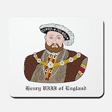 King Henry VIII Mousepad