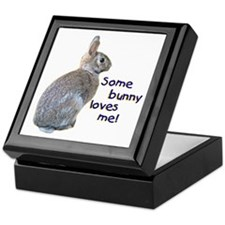 Some Bunny Loves Me Keepsake Box