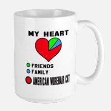 My Heart Friends Family A Mug