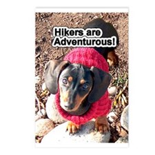 Hikers are Adventurous Postcards (Package of 8)