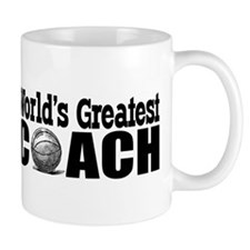 World's Greatest Basketball Coach Mug