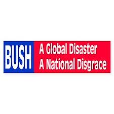bush disaster... Bumper Bumper Sticker