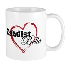 Abstract Heart Mug - Zsadist and Bella