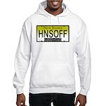 Hands Off NJ Vanity Plate Hooded Sweatshirt