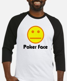 Poker Face Baseball Jersey