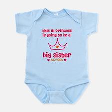 Big Sister Princess Personali Infant Bodysuit