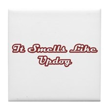 Updog Tile Coaster