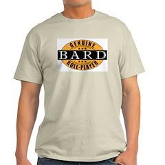 Genuine Bard Gamer Ash Grey T-Shirt
