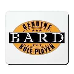 Genuine Bard Gamer Mousepad