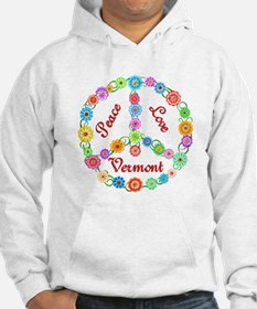 Peace Love Vermont Hoodie