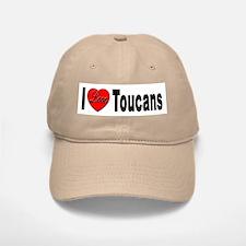 I Love Toucans Baseball Baseball Cap
