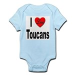 I Love Toucans Infant Creeper