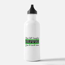 Stem Cell Transplant Survivor Water Bottle