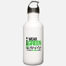 I Wear Green SCT Survivor Water Bottle