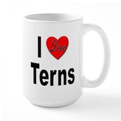 I Love Terns Mug