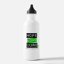 SCT Survivor Heart Ribbon Water Bottle