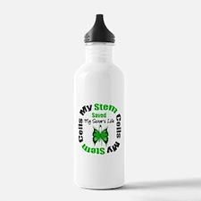 MyStemCellsSavedSister Water Bottle