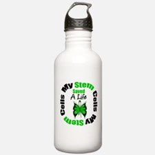 My Stem Cells Saved a Life Water Bottle