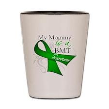 Mommy BMT Survivor Shot Glass